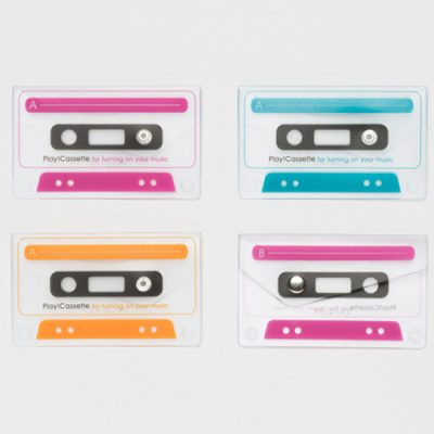 Play!Cassette earphone pouch