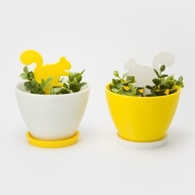 Secret Garden flowerpot - unique gifts 3D printed by re,play404