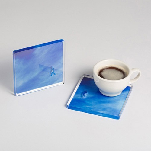 A Piece of Sky drink coaster - available on re,play404 amazon shop