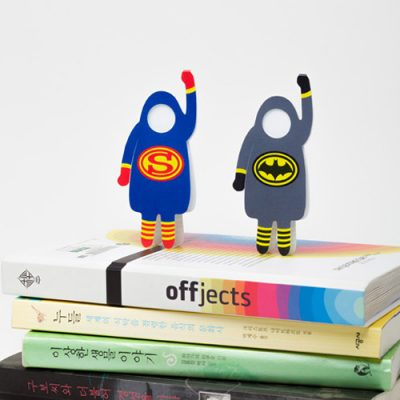 Book Heroes photo bookmark - available on re,play404 amazon shop