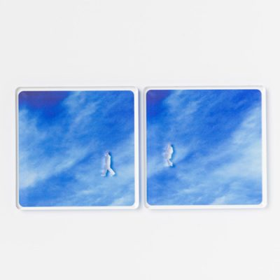A Piece of Sky drink coaster - on creative gifts gallery of re,play404