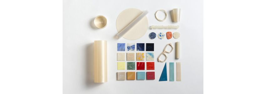 Nuatan – bioplastic material with an aesthetic character