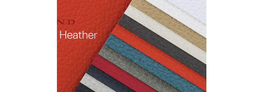 Gmund Heather – leather paper with texture & colors