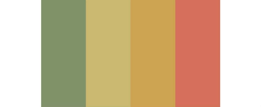 Warm color scheme on a blog post of re,play404 Gifts