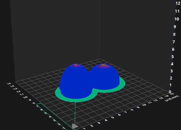 How to 3D print with brim example image on a blog post of re,play404 Gifts