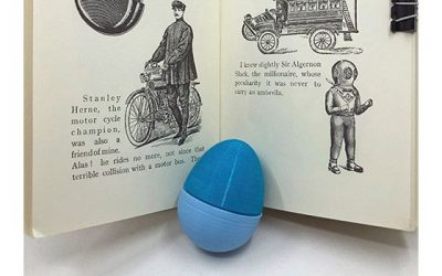 How to 3D print with brim: print an Easter egg