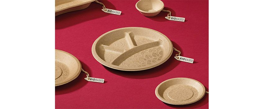 Organic disposable plates by plant: Bio-Lutions