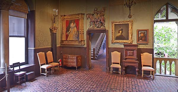 Isabella Gardner Museum on virtual museum Google, image on a blog post of re,play404 Gifts