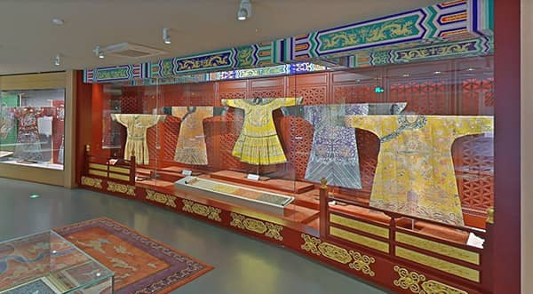 Virtual museum tours with Chinese Silk Museum, image on a blog post of re,play404