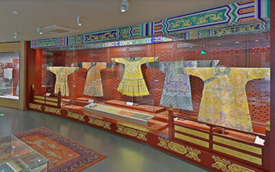 Virtual museum tours of China National Silk Museum