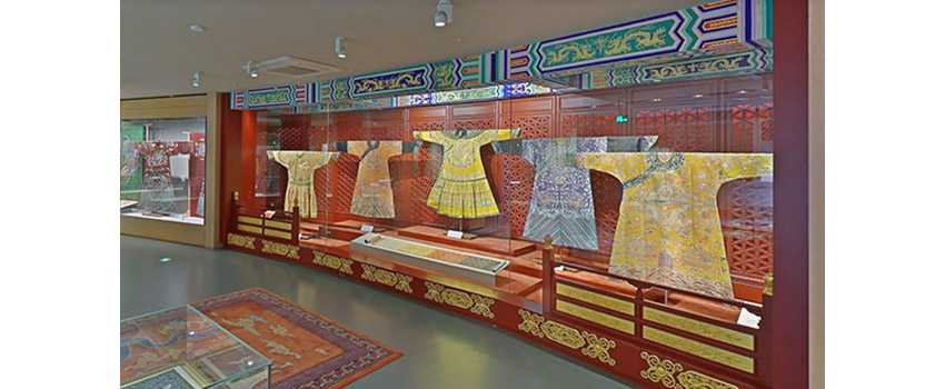 Virtual museum tours of Chinese Silk Museum, image on a blog post of re,play404